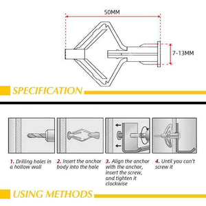 Aircraft Expansion Anchor Bolt (Buy More,Save More)
