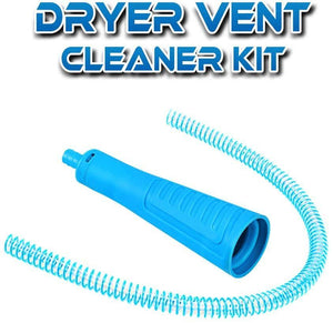 Dryer Vent Vacuum Adapter Clean Hose - Dryer Vent Cleaner, Carpet Cleaner Hose, Vent Cleaner
