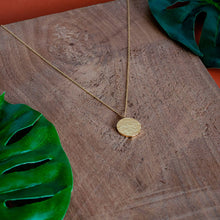 Charger l'image dans la galerie, ANA Gold Necklace Hammered - CANO