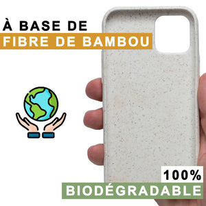 Coque iPhone biodégradable