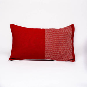 Coussin Walang I Rouge 30x50