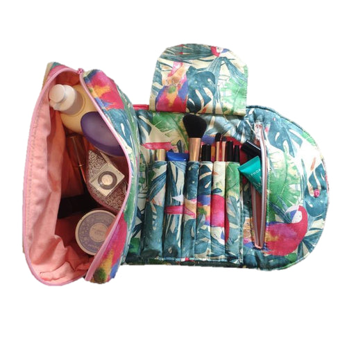 Trousse de toilette faite main ethique durable responsable