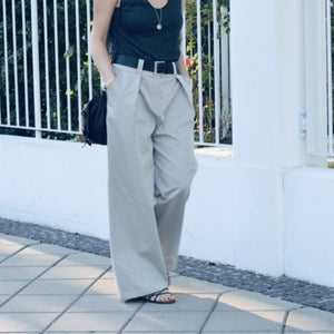 mode éthique pantalon oversize made in france