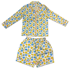 Night Suit - Shorts Set Rainy Cloud Joey Care