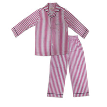 Load image into Gallery viewer, Pyjama set in Pink Stripes Joey Care