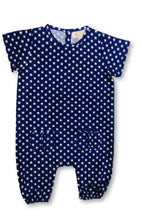 Load image into Gallery viewer, Romper - Polka Dots Blue Star Joey Care