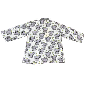 Pyjama set for Girls - Pleats Style Elephant Joey Care