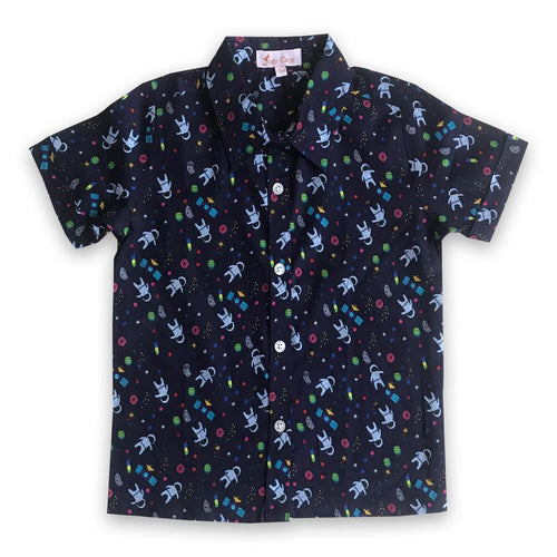 Shirts for boys and girls - Space Joey Care