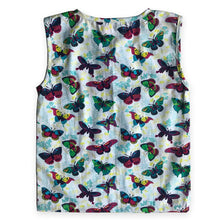Load image into Gallery viewer, Sleeveless Top for girls - Colorful Butterfly Joey Care