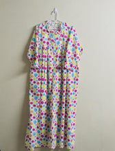 Load image into Gallery viewer, Nighty Gown for Girls and Women - Polka Print - JoeyCare