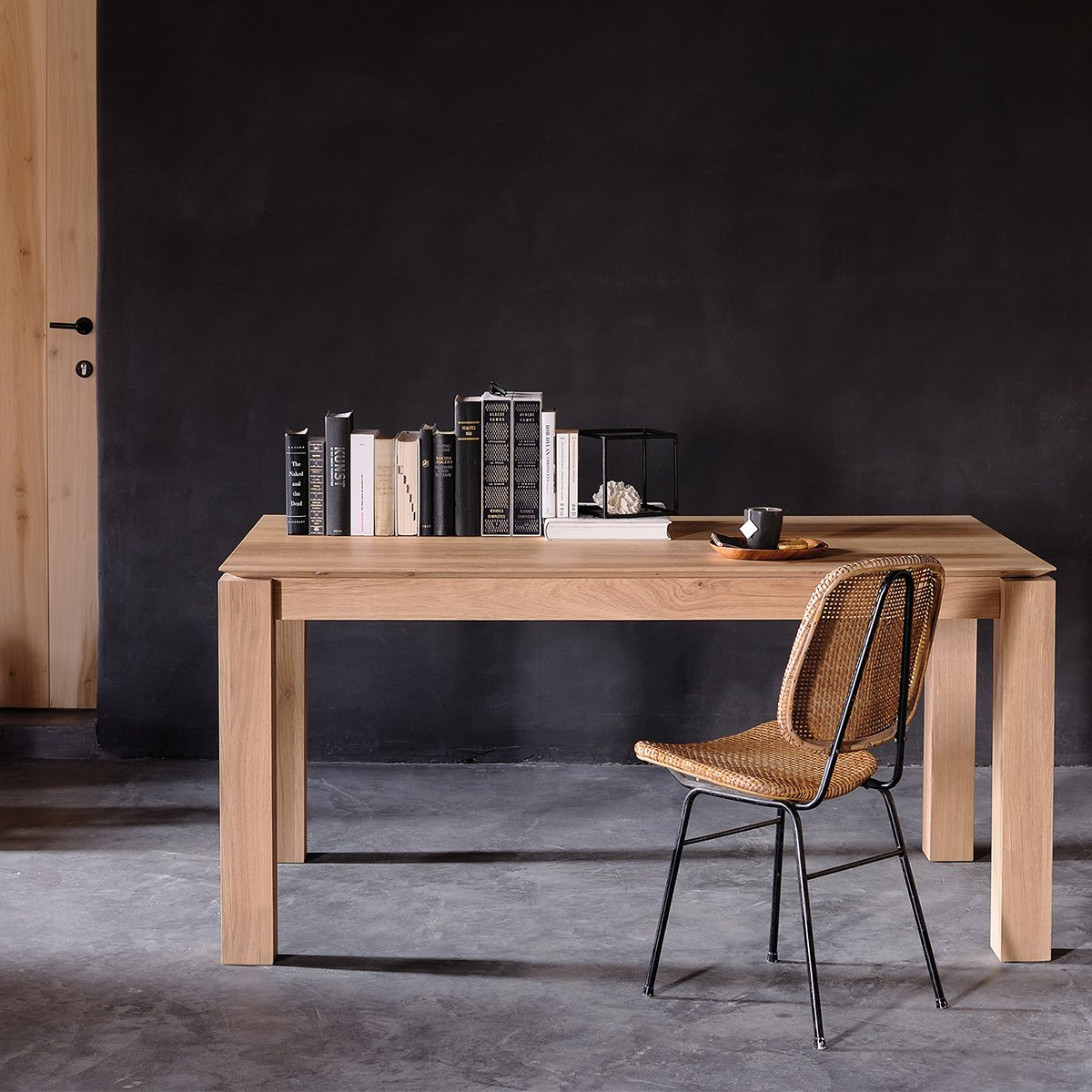 Slice Extension Dining Table by Ethnicraft