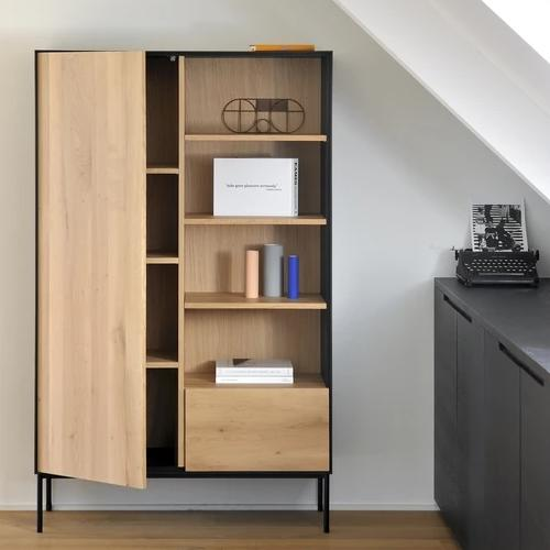 Oak Blackbird & Whitebird Cupboard By Ethnicraft
