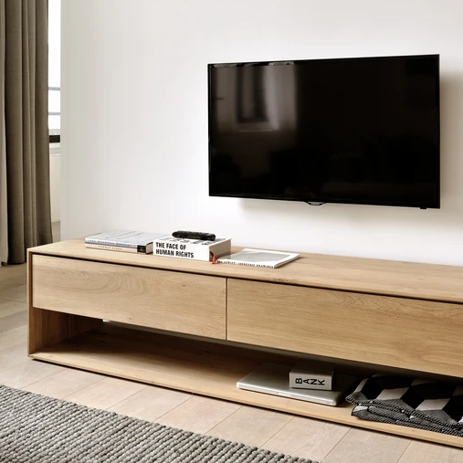 Oak Nordic Tv Cupboard By Ethnicraft