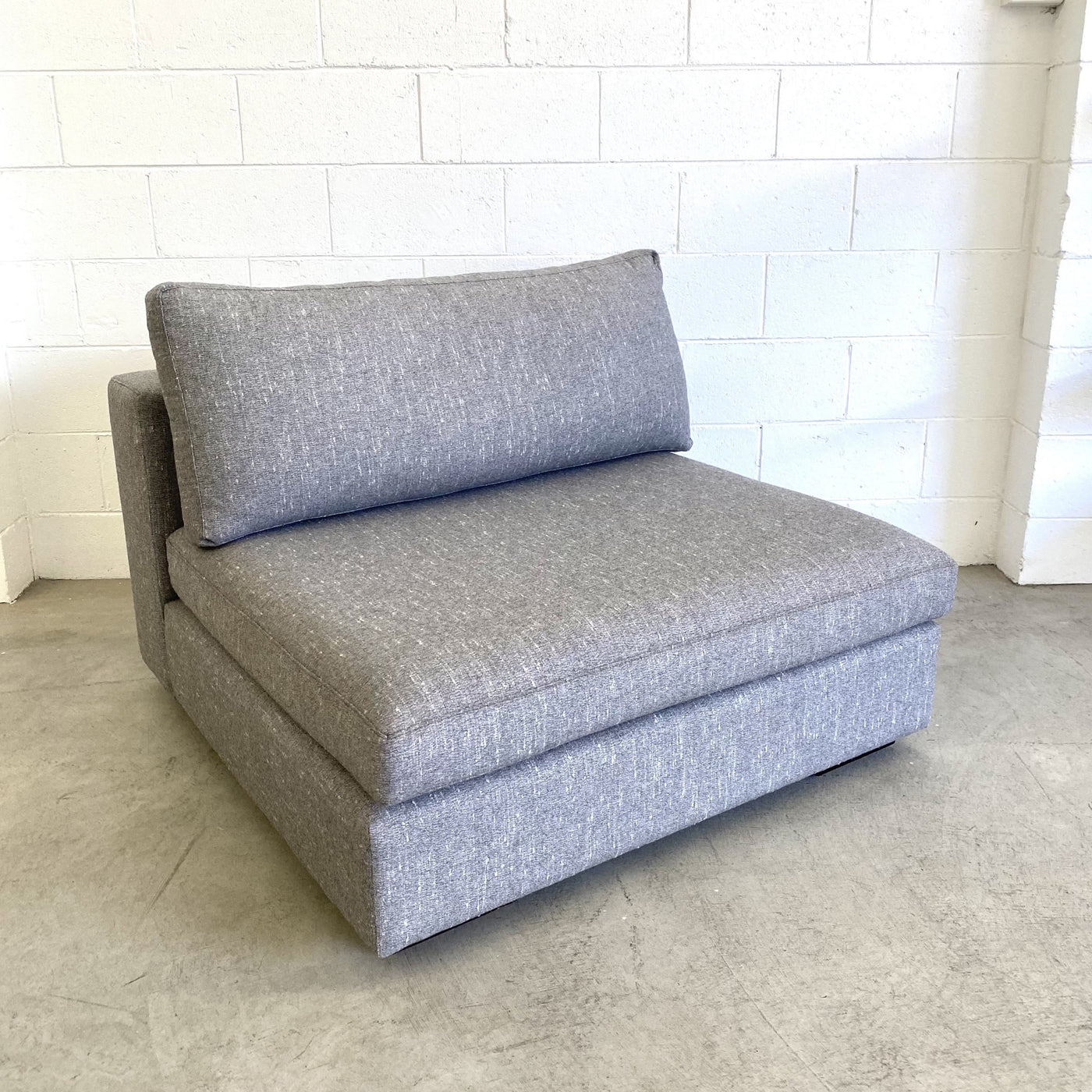 Billie sofa chair in Minimalist Fabric Was $2,600 Now $980