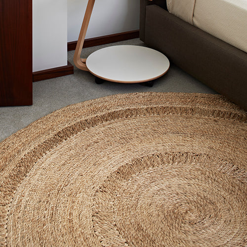Petunia Flower Weave Rug by Armadillo