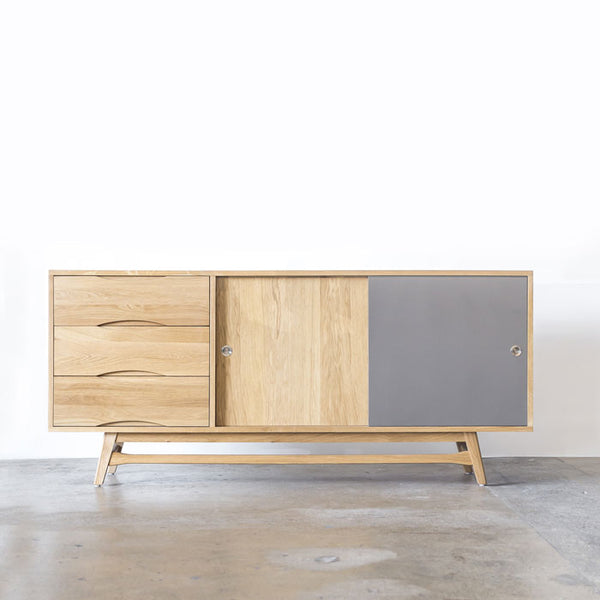 Skye Solid Oak Sideboard