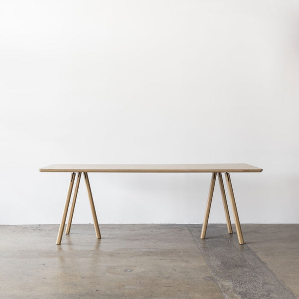 Trestle Table designed by Allan Noddebo for Feelgood Designs