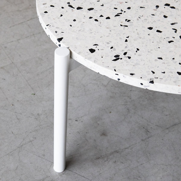 Evie nesting table with Terrazzo top by Design Kiosk