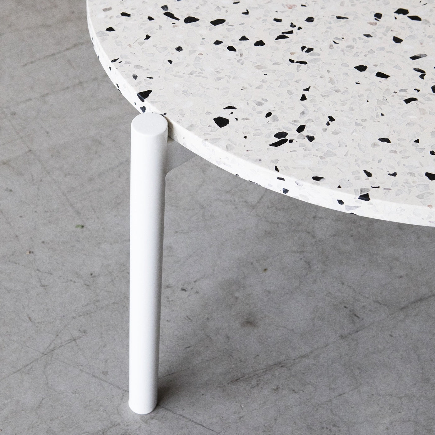 Evie nesting table large with Terrazzo top by Design Kiosk Was $990 Now $742.50