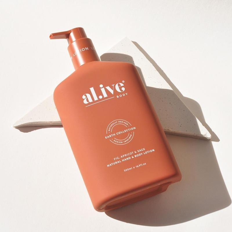 Hand & Body Lotion in Fig, Apricot and Sage