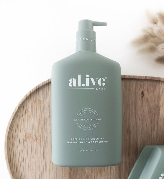 Hand & Body Lotion in Kaffir and Lime