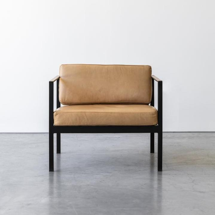 Leo Leather Chair by Design Kiosk