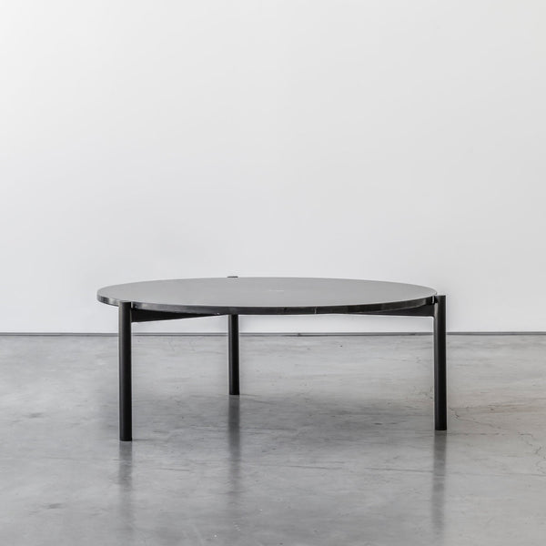 Evie nesting table with black marble top by Design Kiosk