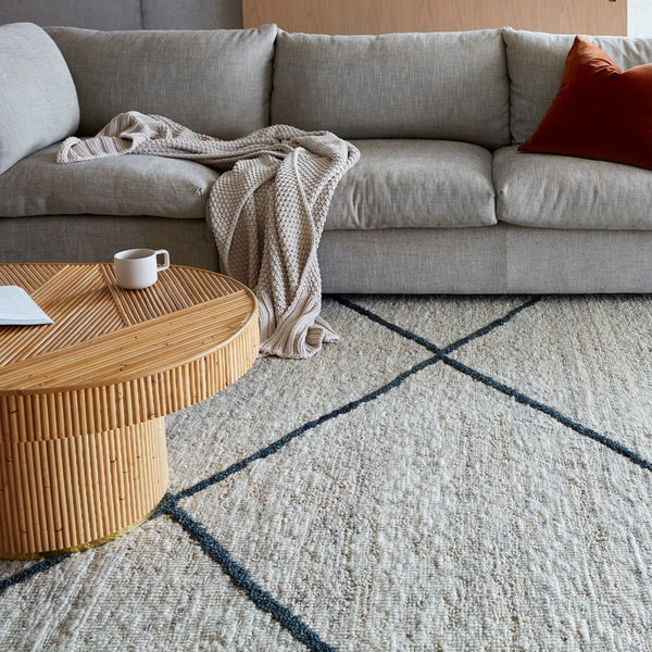 Ridge Grey/Charcoal Rug by Tribe Home