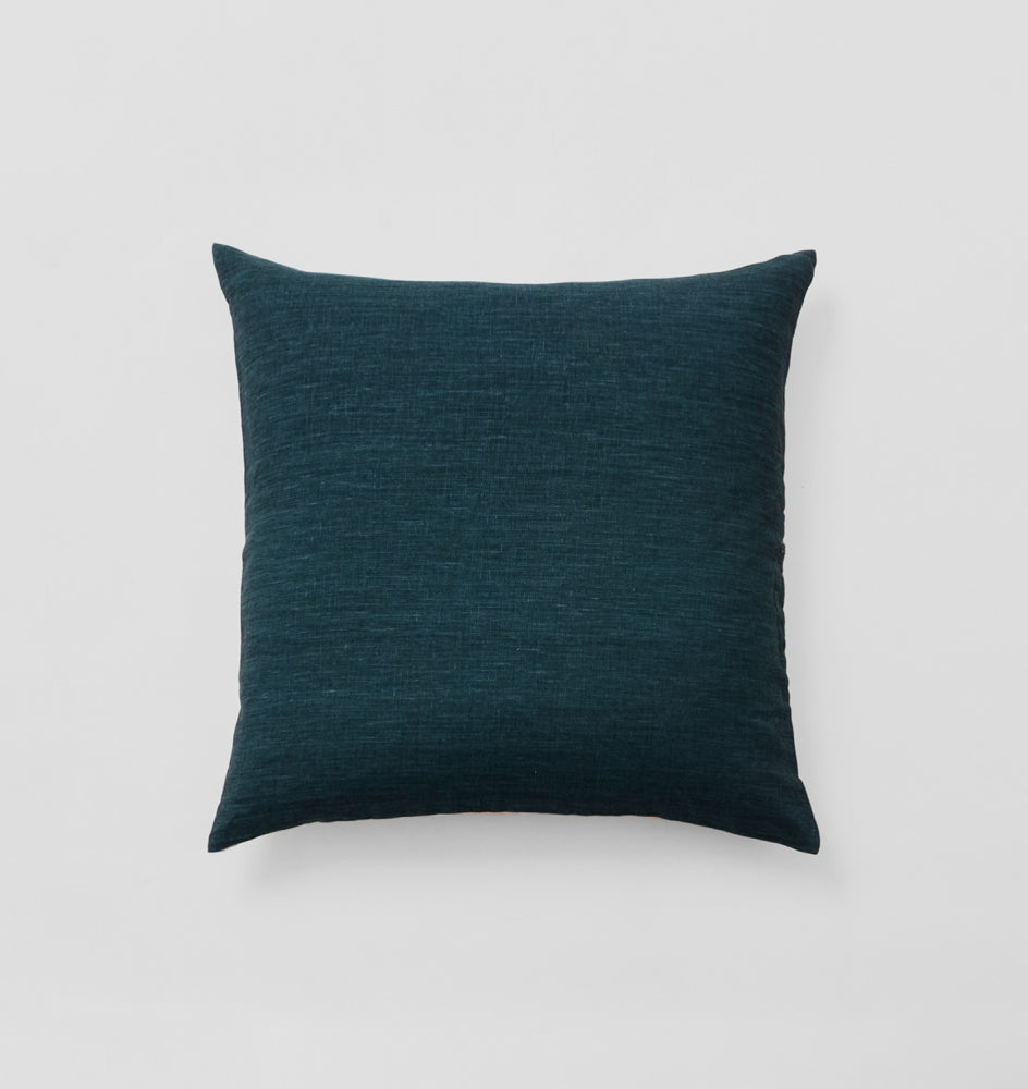 Navy Square Cushion by Middle of Nowhere