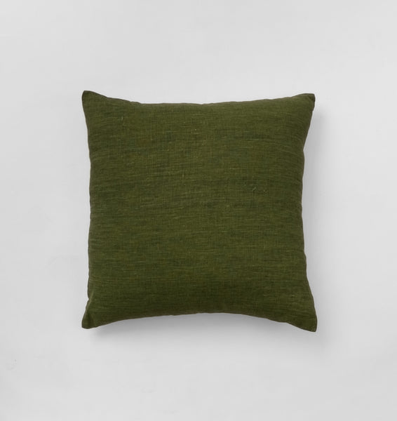 Olive Square Cushion by Middle of Nowhere