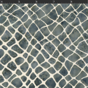 Parts Dept. Batiks Netting Gray/White  8179