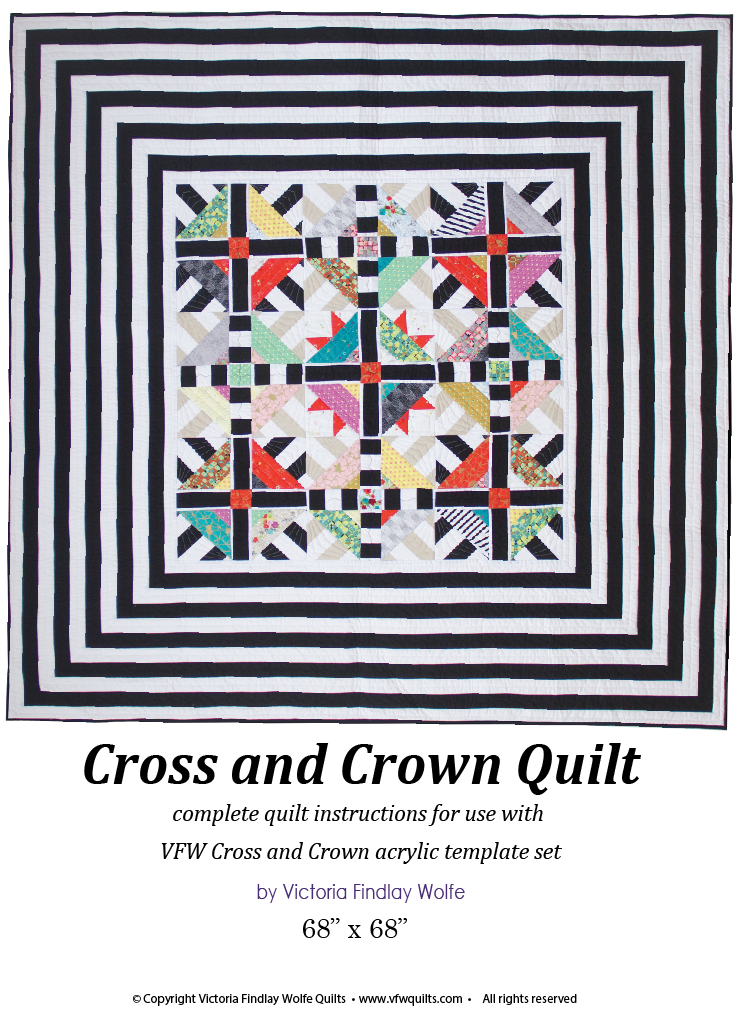 *NEW* Cross & Crown Quilt: *Pattern Instructions Only