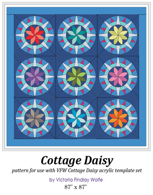 *New* Cottage Daisy Pattern and Template Set