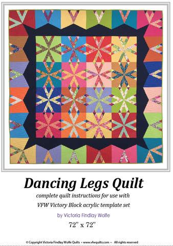 Dancing Legs: Pattern & Templates