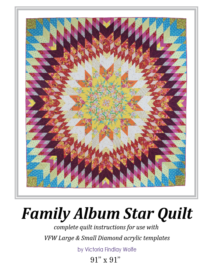 Family Album Quilt: Pattern & Templates