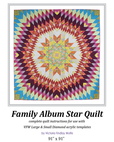 *BestSellers* Family Album Quilt: Pattern & Templates