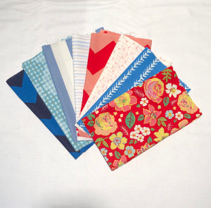 *NEW* 8 piece select bundle of 1/4 yard cuts - Celebrate
