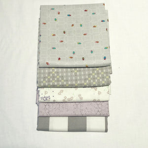 *NEW* 5 pc Half Yard Bundle - Grays