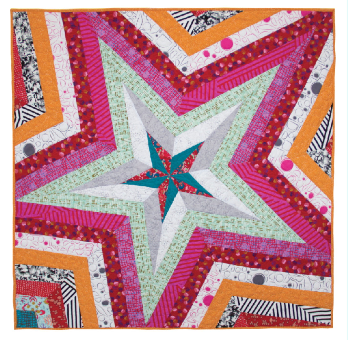 NEW* Star Storm Mini Pattern - Victoria Findlay Wolfe Quilts