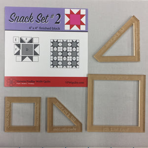 Snack Set #2- Mini Template Set