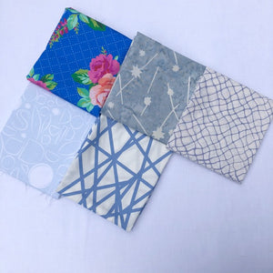 *NEW* 5 pc Half Yard Bundle - Blue