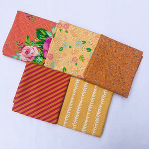 *NEW* 5 pc Half Yard Bundle - Orange