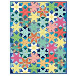 *NEW* Scrappy Hex Star Quilt Kit