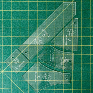 *NEW* Crossroads Acrylic Template Set