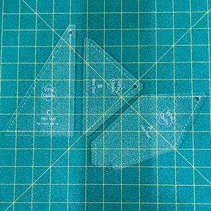 *NEW* Hex Star Acrylic Template Set