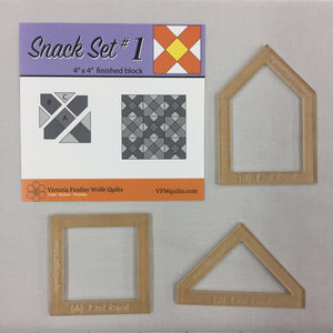 Snack Set #1- Mini Template Set