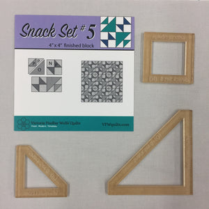 Snack Set #5- Mini Template Set