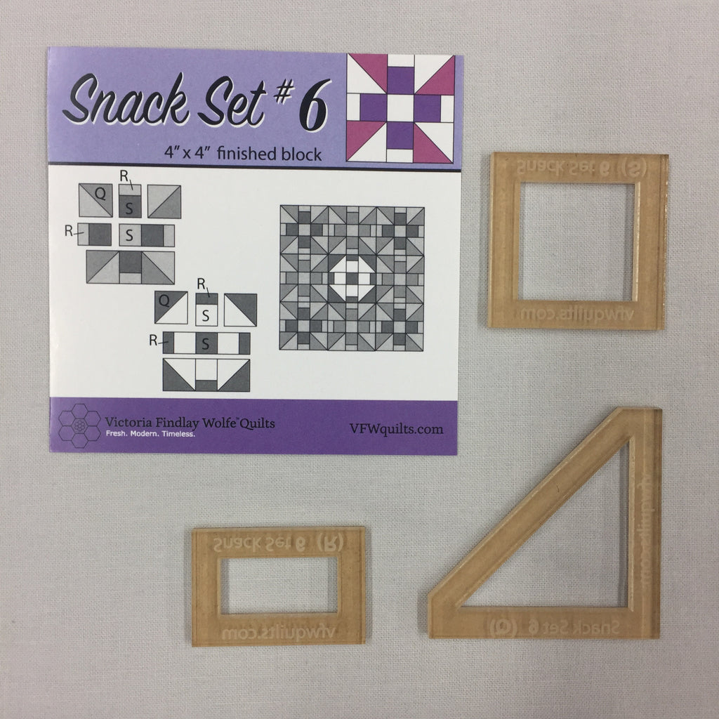 *NEW* Snack Set #6- Mini Template Set