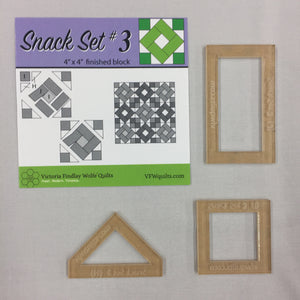 Snack Set #3- Mini Template Set