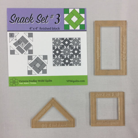 *NEW* Snack Set #3- Mini Template Set